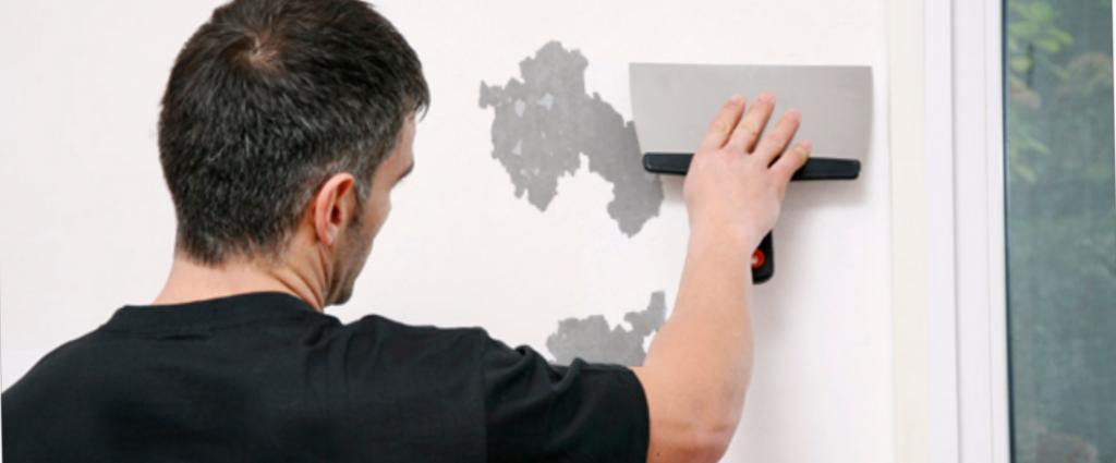 ¿Cómo quitar pintura de la pared?
