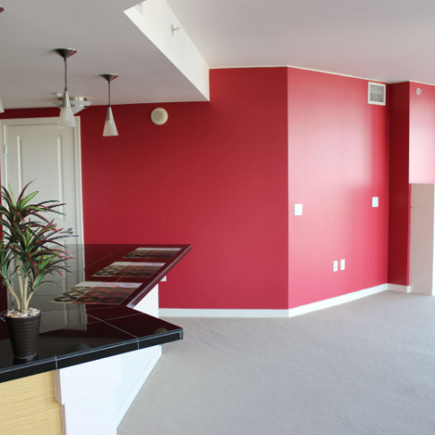 como-elegir-colores-para-casa-pintura-roja-brillante