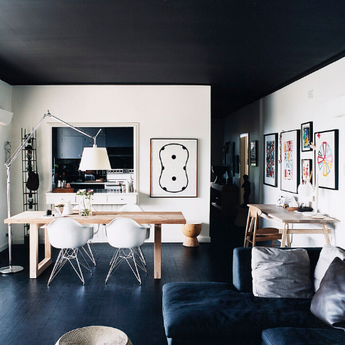 como-elegir-colores-para-casa-techo-color-oscuro