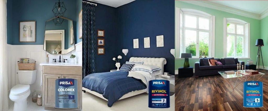 ¿Cuáles son los tipos de pintura para cada sección de tu casa?