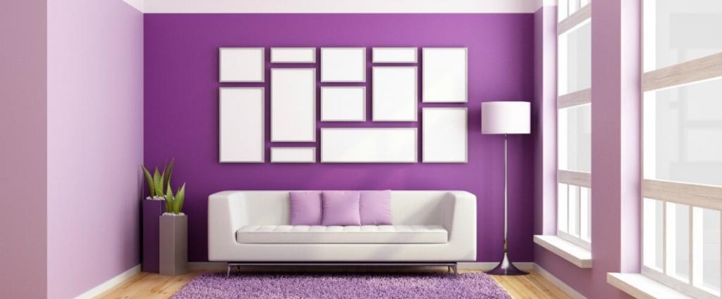 Cómo integrar color morado en la decoración de tu casa