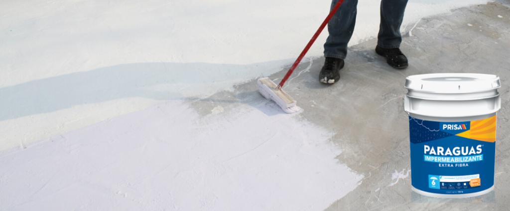 ¿Cuánto rinde una cubeta de impermeabilizante para techo?