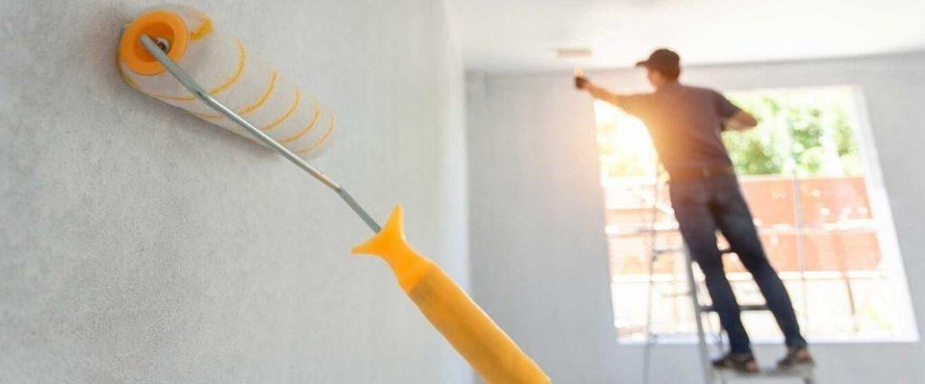 Ventajas de pintar tus paredes con rodillo