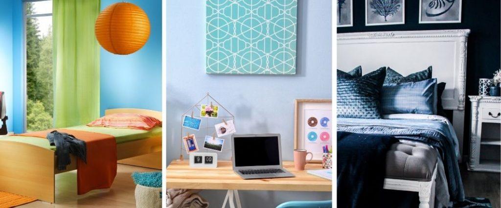 Cómo combinar el azul en todos los espacios de tu hogar