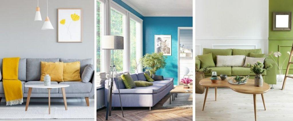 ¿Qué colores combinan mejor para pintar una sala?