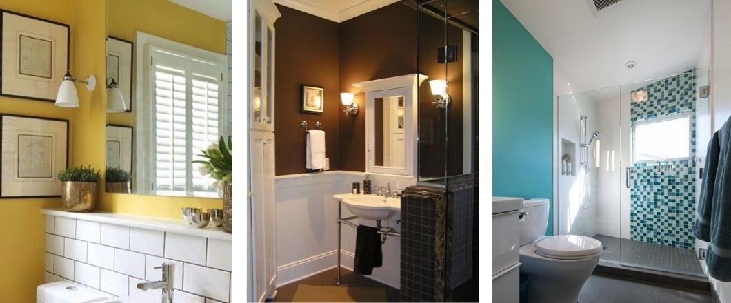 Los mejores colores para pintar tu baño